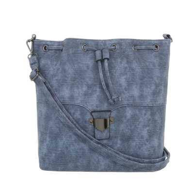 Mittelgroße Damen Tasche Blau