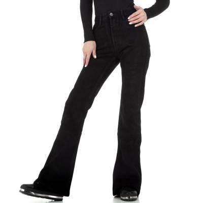 Bootcut Jeans für Damen in Schwarz