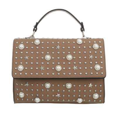 Handtasche für Damen in Braun