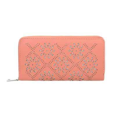 Portemonnaie Damen Geldbörse Coral