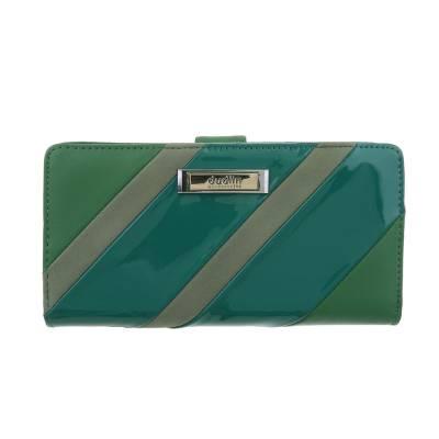 Portemonnaie Damen Geldbörse Grün