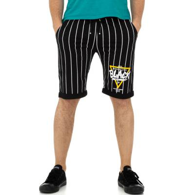 Shorts für Herren in Schwarz