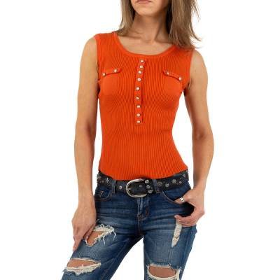 Top für Damen in Orange