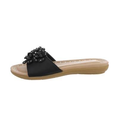 Mädchen Kinder Sandalen Schwarz