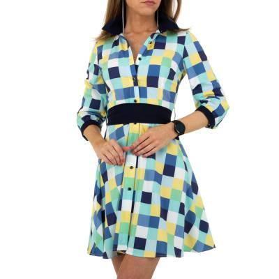 Blusenkleid für Damen in Blau