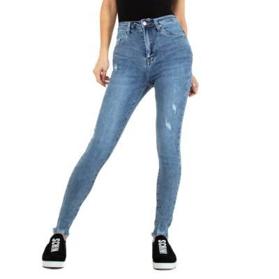 Skinny Jeans für Damen in Hellblau