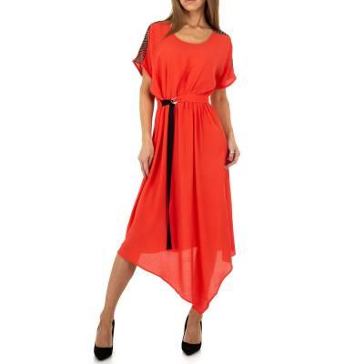 Maxikleid für Damen in Rot