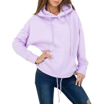 Sweatshirt für Damen in Lila