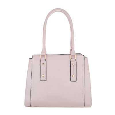 Mittelgroße Damen Tasche Hellrosa