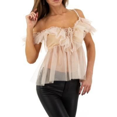 Bluse für Damen in Beige