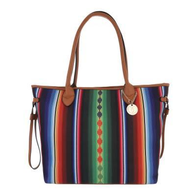 Shopper für Damen in Mehrfarbig