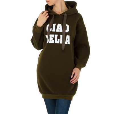 Sweatshirt für Damen in Braun