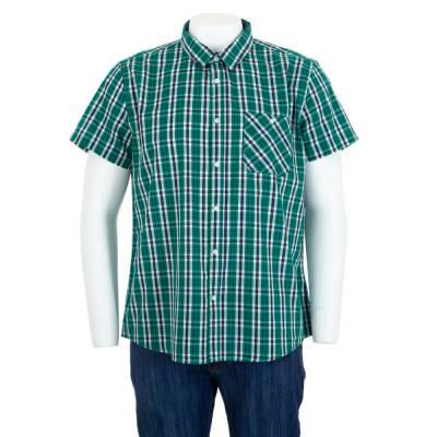 Hemd für Herren in Grün
