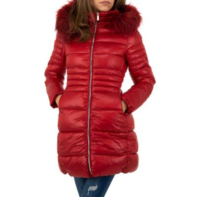 Wintermantel für Damen in Rot