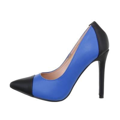 High Heel Pumps für Damen in Blau und Schwarz