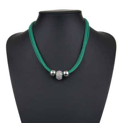 Halskette für Damen in Grün