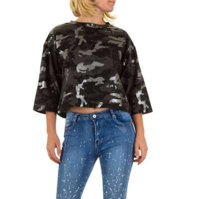 Sweatshirt für Damen in Camouflage
