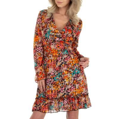 Sommerkleid für Damen in Orange