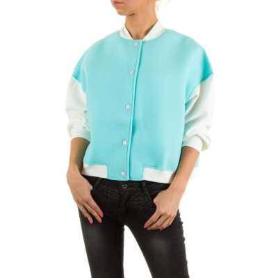 Übergangsjacke für Damen in Türkis
