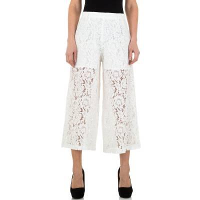 Stoffhose für Damen in Weiß