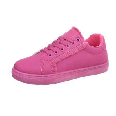 Sneakers low für Damen in Rosa und Pink
