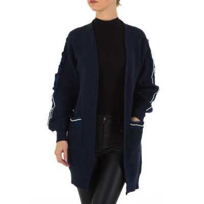Strickjacke für Damen in Blau