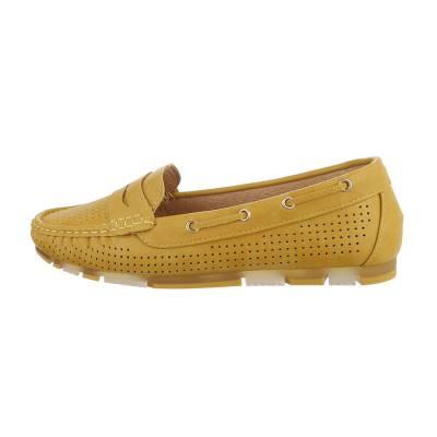 Slipper für Damen in Gelb