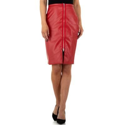Midirock für Damen in Rot