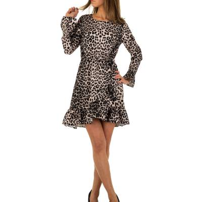 Minikleid für Damen in Mehrfarbig