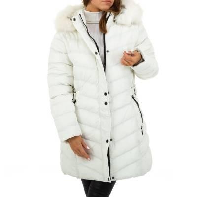 Wintermantel für Damen in Weiß