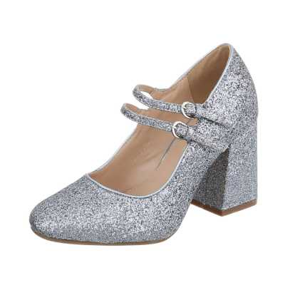 High Heel Pumps für Damen in Silber