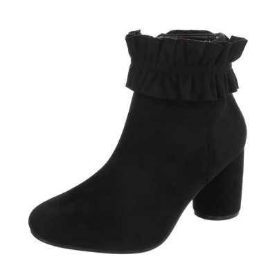 High Heel Stiefeletten für Damen in Schwarz