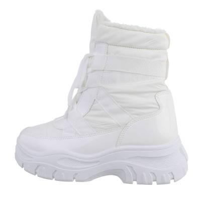 Snowboots für Damen in Weiß