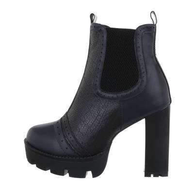 Chelsea Boots für Damen in Blau und Schwarz