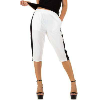 Caprihose für Damen in Weiß
