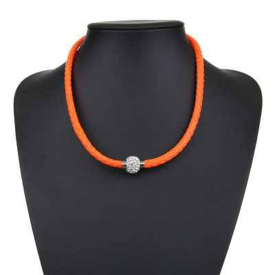 Halskette für Damen in Orange
