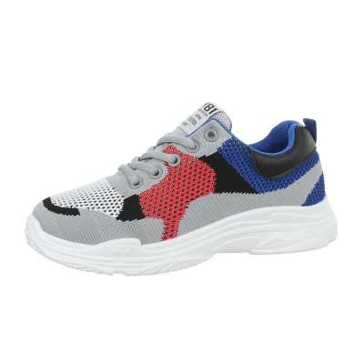 Sneakers low für Damen in Blau und Grau