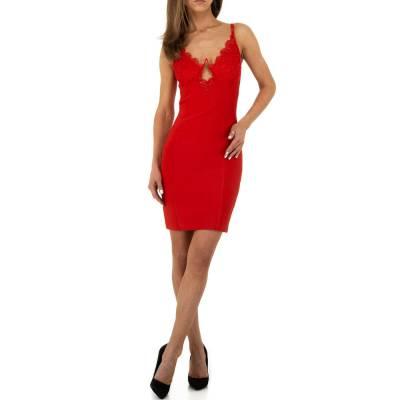 Cocktailkleid für Damen in Rot
