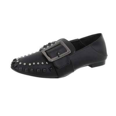 Slipper für Damen in Schwarz