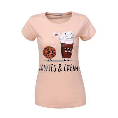 T-Shirt für Damen in Orange