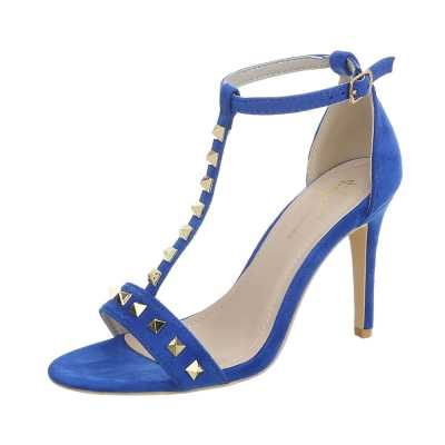 High Heel Sandaletten für Damen in Blau