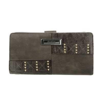 Portemonnaie Damen Geldbörse Olive