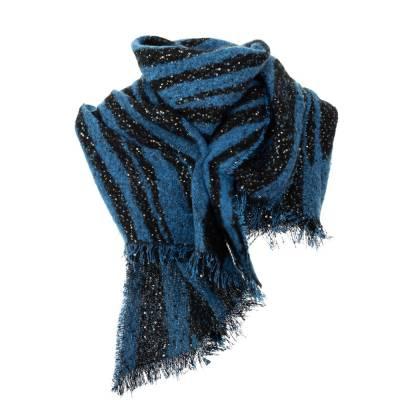 Schal für Damen in Blau