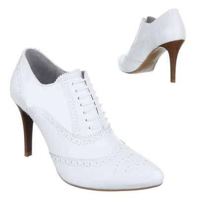 Ankle Boots für Damen in Weiß