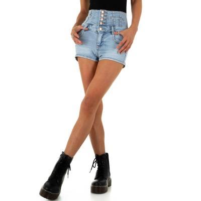 High Waist Shorts für Damen in Blau