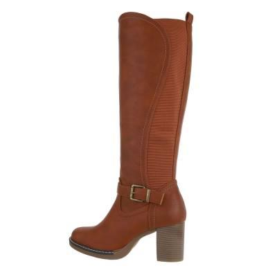 High Heel Stiefel für Damen in Braun