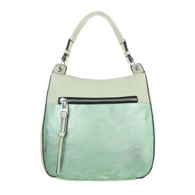 Mittelgroße Damen Tasche Hellgrün