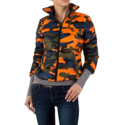 Übergangsjacke für Damen in Orange