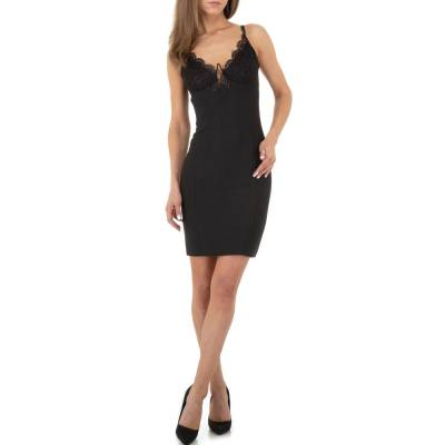 Cocktailkleid für Damen in Schwarz