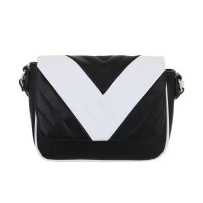 Kleine Damen Tasche Schwarz Weiß